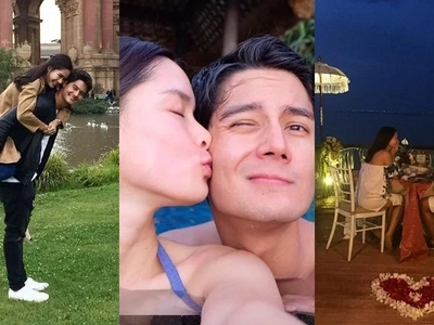 8 photos that perfectly capture Daniel Matsunaga and Erich Gonzales being crazy in love