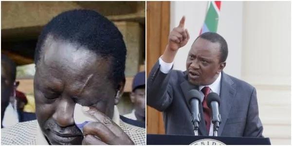 Raila Odinga amkemea vikali Rais Uhuru kwa kumzuilia Gavana Joho wa Mombasa