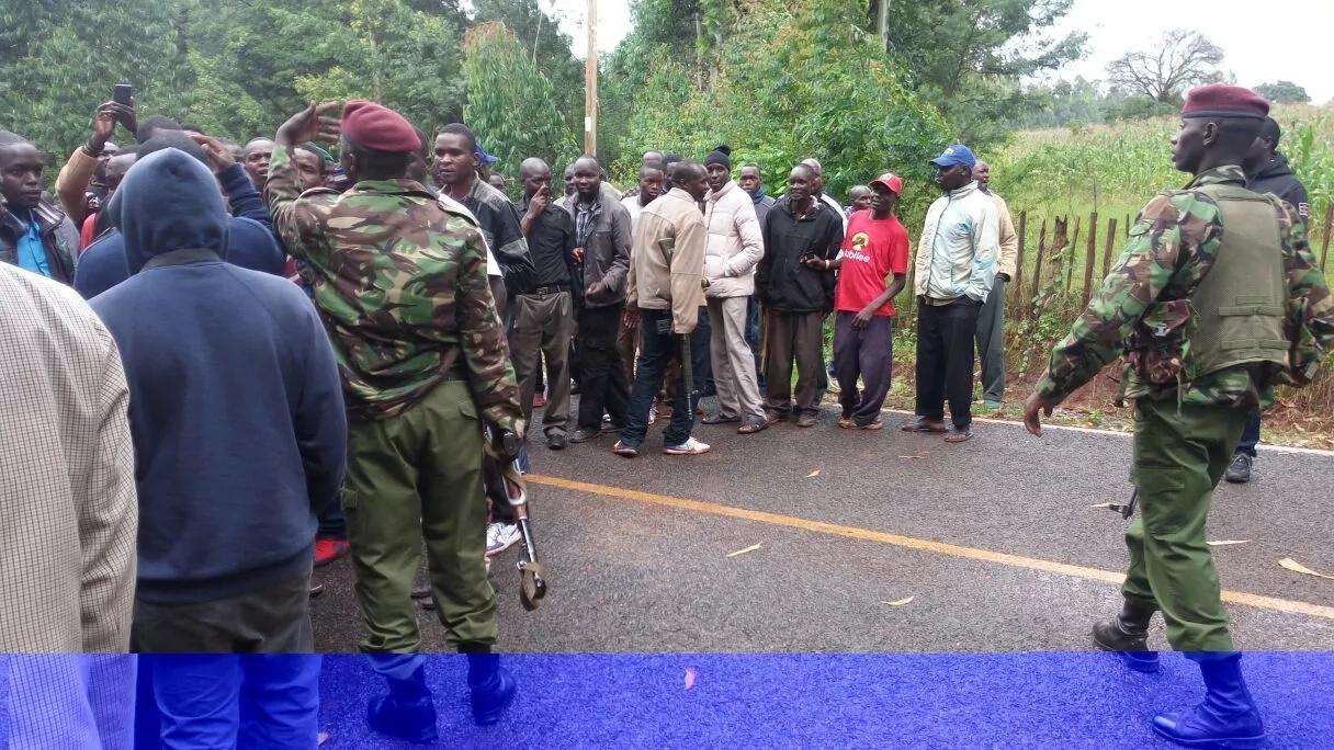 Terror attack at Deputy President William Ruto's House, GSU shot