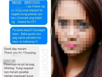 This funeral service has a winning response to this netizen's ridiculous request to cremate husband's mistress