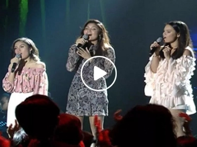 Daughters of Sharon, Gary V, and Ogie sing together on 'ASAP' and it's the sweetest thing we've heard