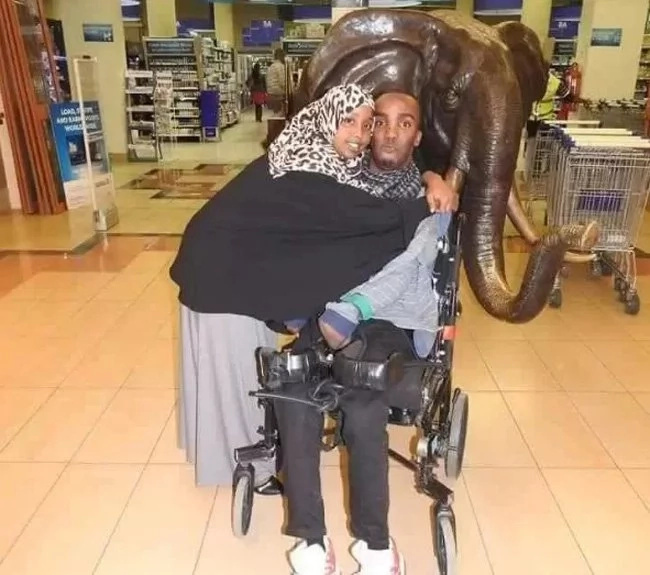 The beautiful Somali lady who chose to forever love her disabled man