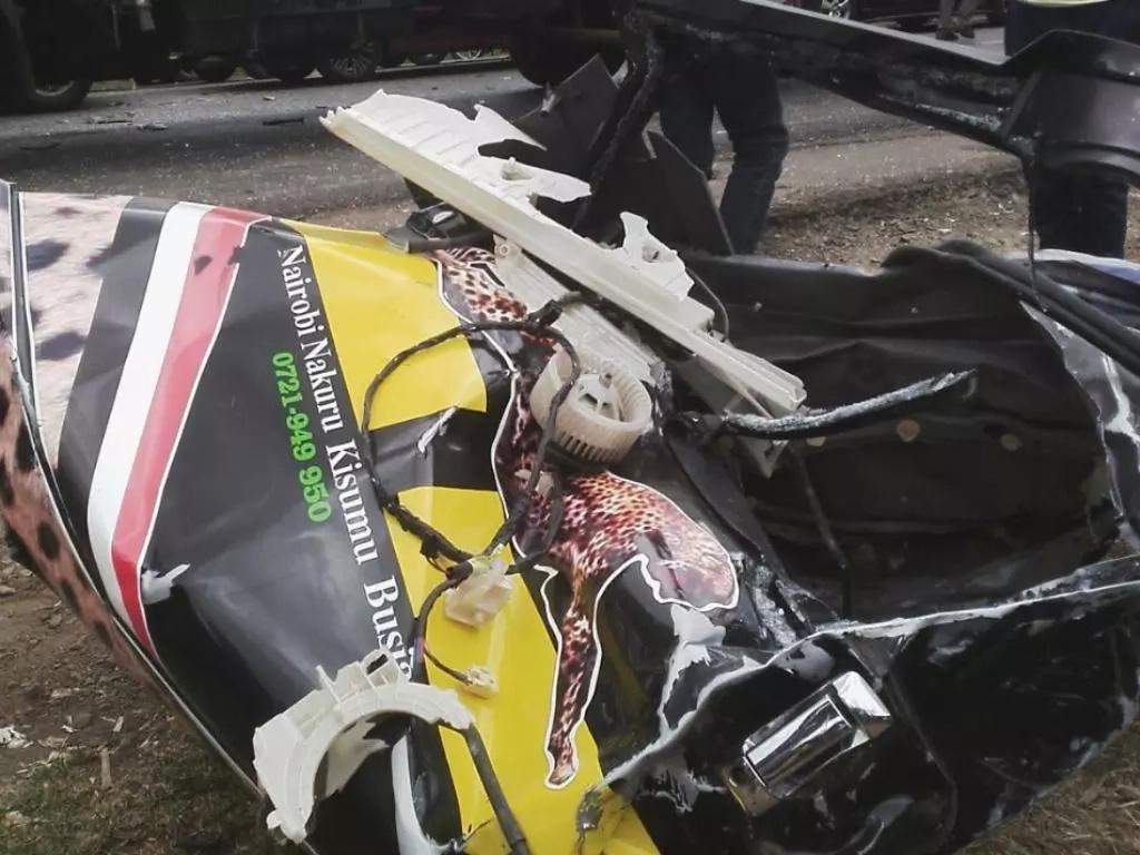 Terrible accident at Sachang'wan kills four