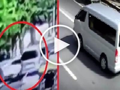 #Counterflow: Reckless driver causes violent multi-car crash in Las Piñas