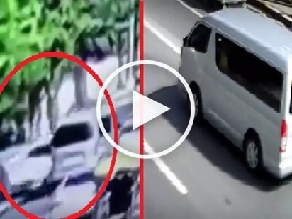 #Counterflow: Reckless driver causes violent multi-car crash in Las Piñas