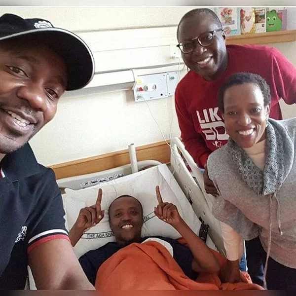 Radio host Maina Kageni makes first public appearance after going under the knife