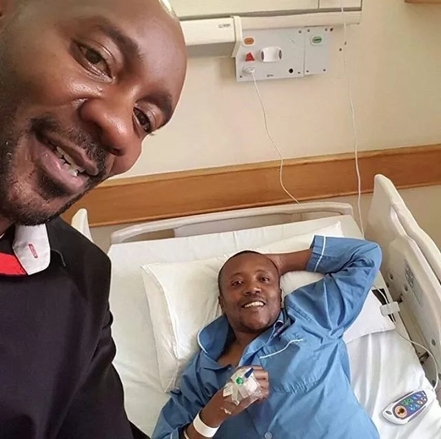 Check out the drink Maina Kageni has replaced alcohol with as he recovers