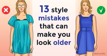 13 style mistakes that can make you look older