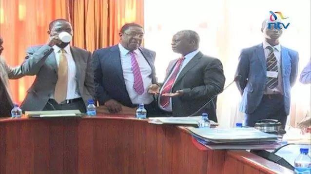 Khalwale, Nyongo enjoy tea and bananas as Sonko, Kidero fight