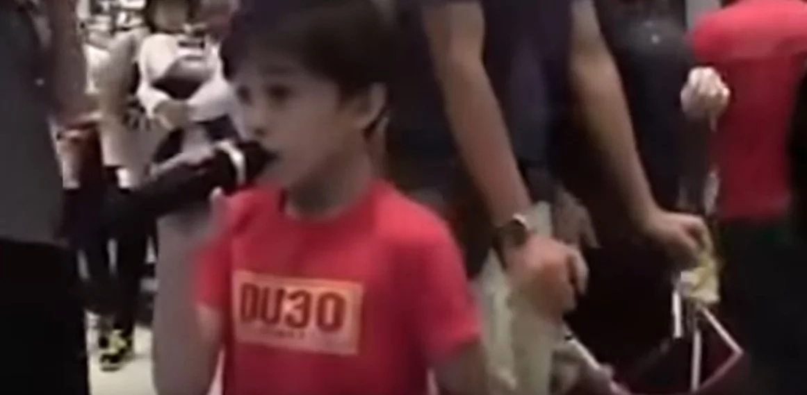 Talented kid sings epic version of'Listen' in viral video