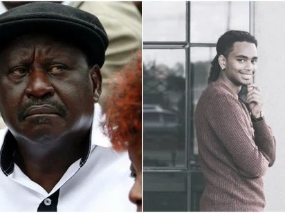 Mwai Kibaki's grandson Sean Andrew joins thousands of Kenyans in pushing the United Nation to stop Raila from 'Plunging Kenya into Violence'