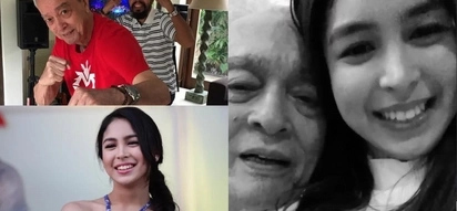 Julia Barretto spending Valentine's with her grandfather is the sweetest thing we've seen
