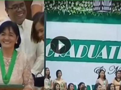 Grandma proves 'dreams have no age limit' as she marches at the senior high school graduation