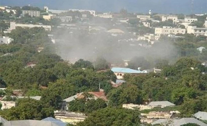Presidential palace attacked