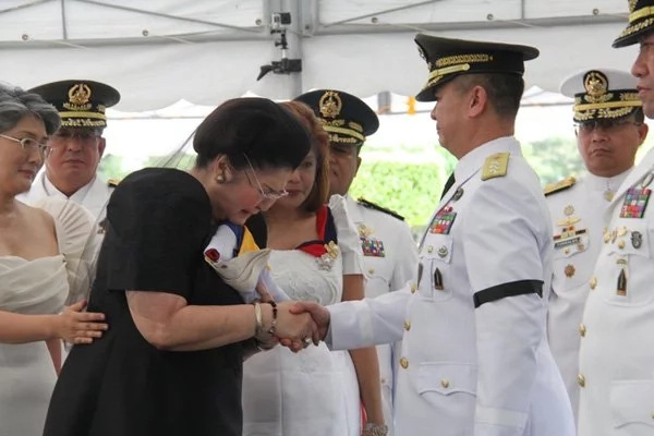 Miranda acted as the chief of staff due to Visaya's absence. (Photo credit: Rappler)