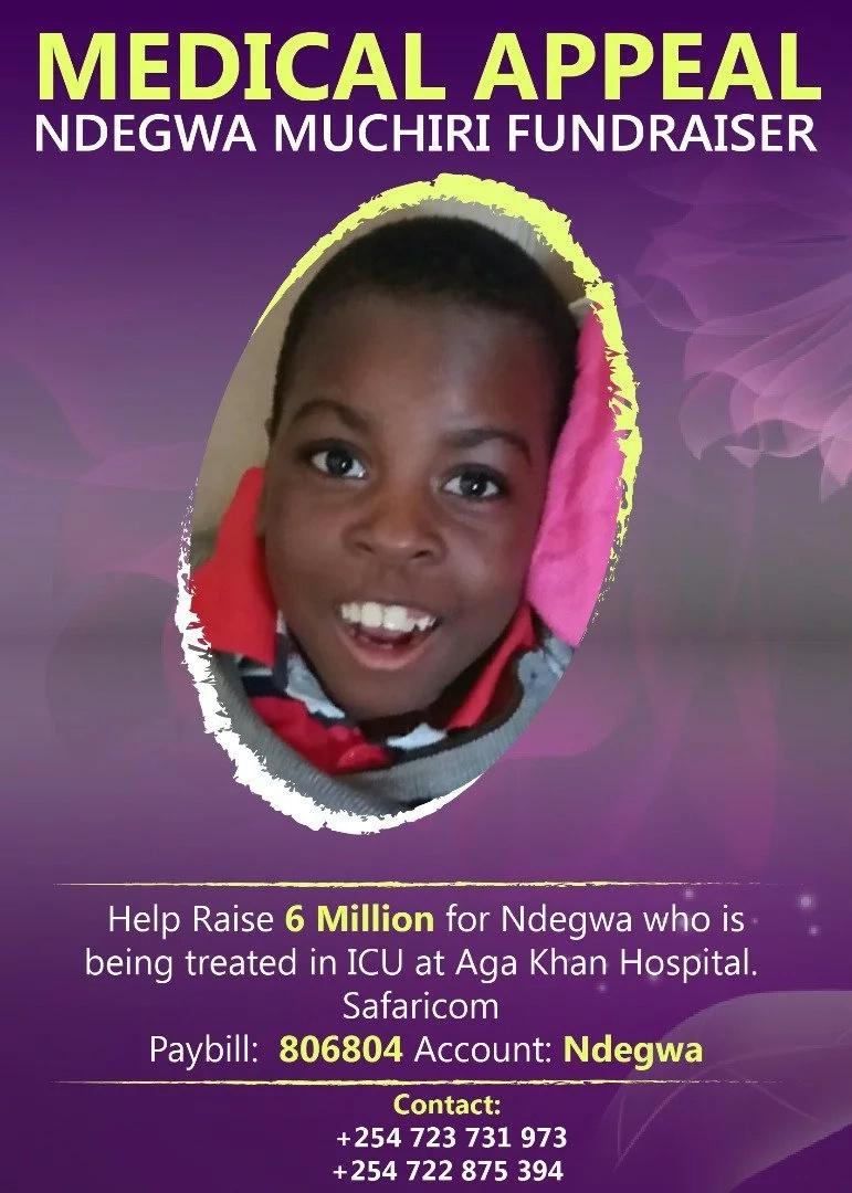 Ndegwa Muchiri medical aid