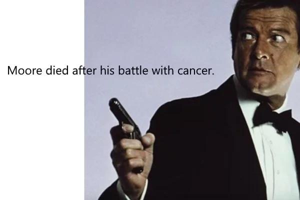James Bond Actor Roger Moore Is Dead