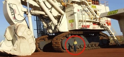 These construction vehicles look like real monsters! Their size is stunning (PHOTOS)