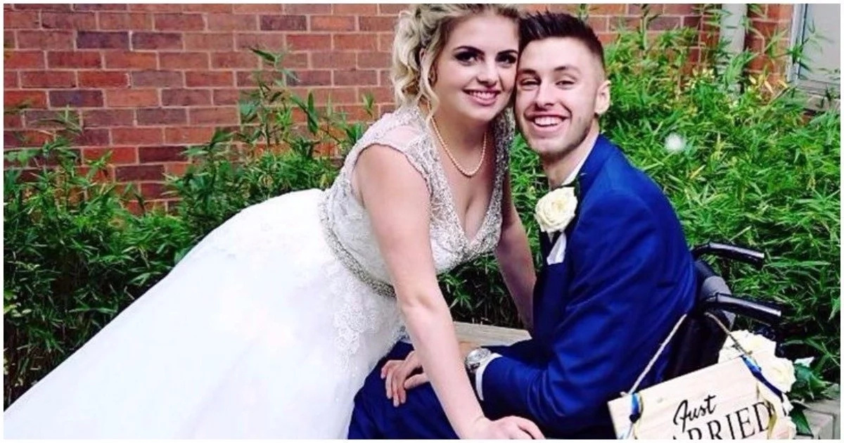 Man declared terminally ill proposes to girlfriend, stuns wedding guests with news of misdiagnosis (photos)
