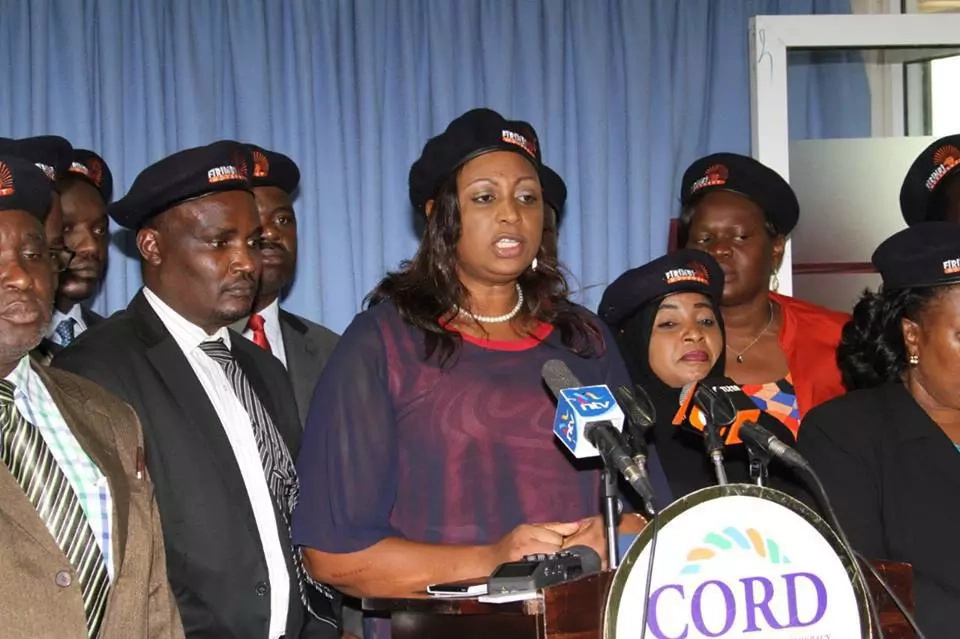 ODM has unveiled caps to be used in anti-IEBC protests