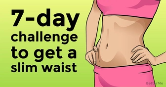 7-day muffin top challenge that can help you get a slim waist