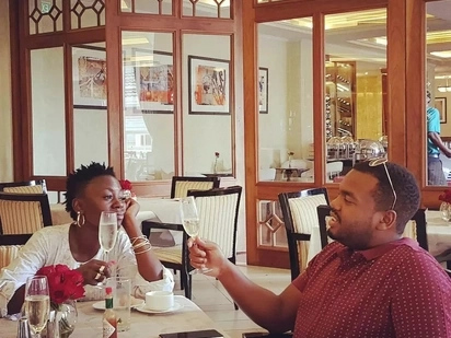 I will proudly share you with other women as I am stuck with you for life - Akothee tells lover