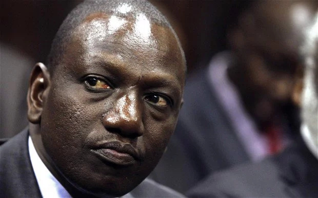 William Ruto WARNING