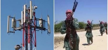 Suspected al-Shabab militants destroy Safaricom mast in Wajir