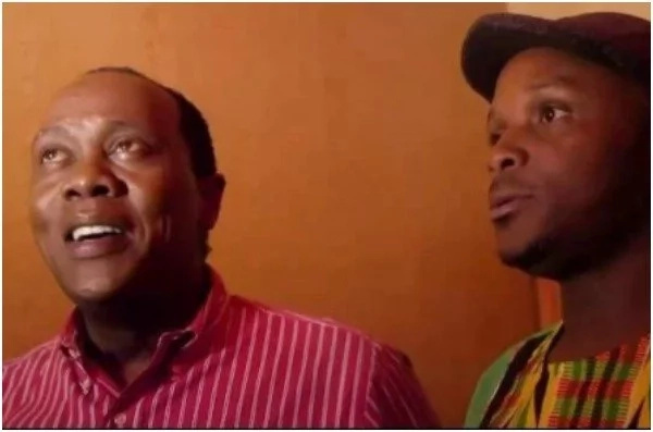 Jeff Koinange 'bullies' his side kick Jalang'o and it's the most hilarious thing you might see today