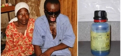 Evil uncle throws ACID in boy's face to win sole ownership of his late brother's assets (photos)