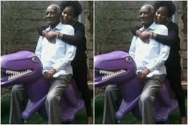 jackson Kibor shoots at his son