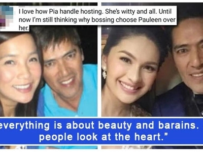 May comparison? Pauleen Luna-Sotto answers a netizen wondering why Vic Sotto chose her over Pia Guanio