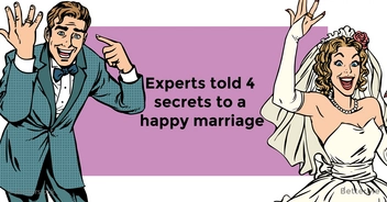 Relationship experts told 4 secrets to a happy marriage