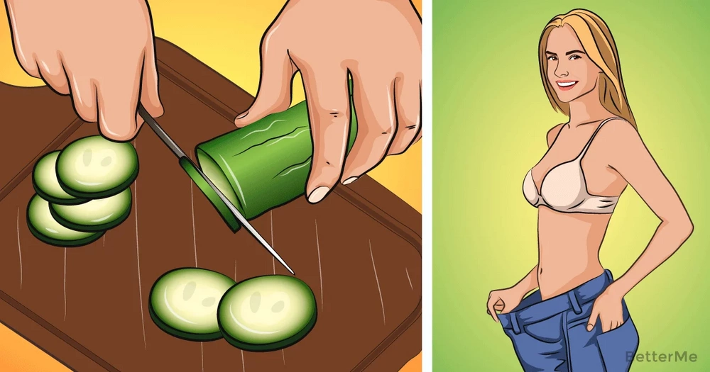 Lose some excess pounds with the cucumber diet