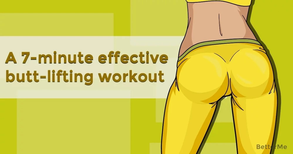 A 7-minute butt-lifting workout that is very effective