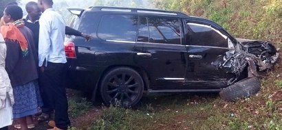 Just in: ODM chairman involved in GRISLY head on collusion accident