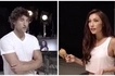 Husband Nico shows Solenn how it is done! He eats that chicken really passionately