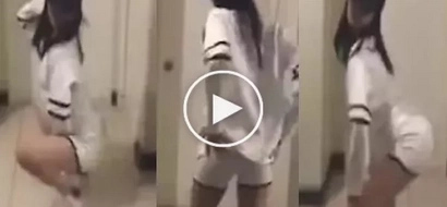 Netizens discuss gorgeous Pinay dancing provocatively in viral Youtube video