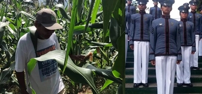 Diligent son of a humble corn farmer finishes top 2 in PMA class of 2017