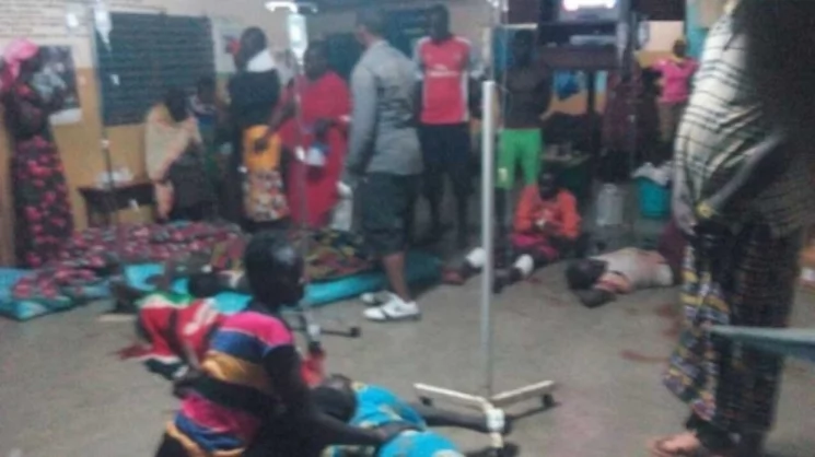 Angry residents storm police station,kill student who shot dead 5 students