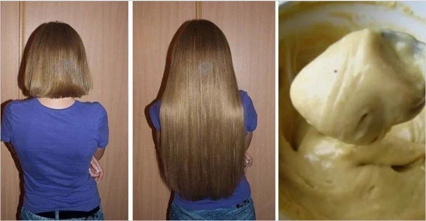 Ella se aplicó esta mezcla en la cabeza y su cabello comenzó a crecer como loco