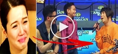 Vice Ganda mocks Kris Aquino while interviewing Bimby's look-alike contestant on 'Tawag ng Tanghalan Kids!' Watch it here!