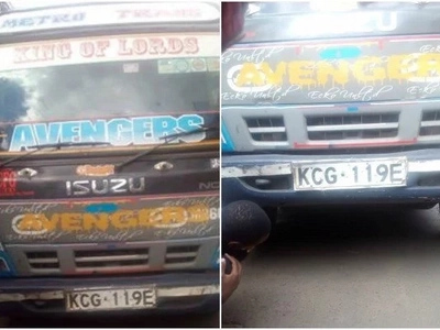Shock as a Rongai Matatu crushes a tout in a horror stunt gone wrong