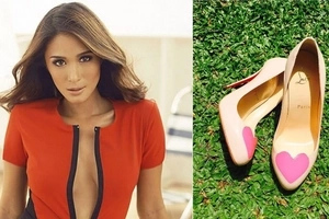 9 photos showing that Heart Evangelista is so much inlove with heart-shaped stuff