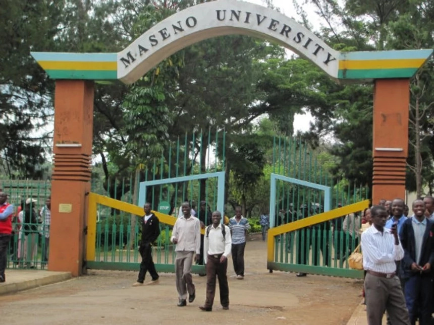 Unknown people destroy Maseno University offices