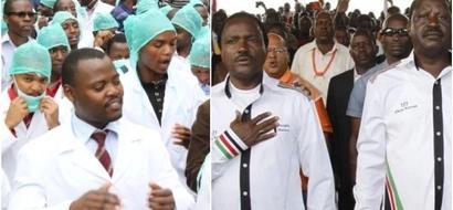 Doctors shout down Raila and Kalonzo at Uhuru Park