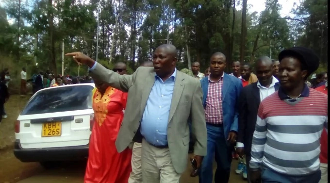 Chaos erupts at Jubilee meeting attended by Sonko and Kamanda