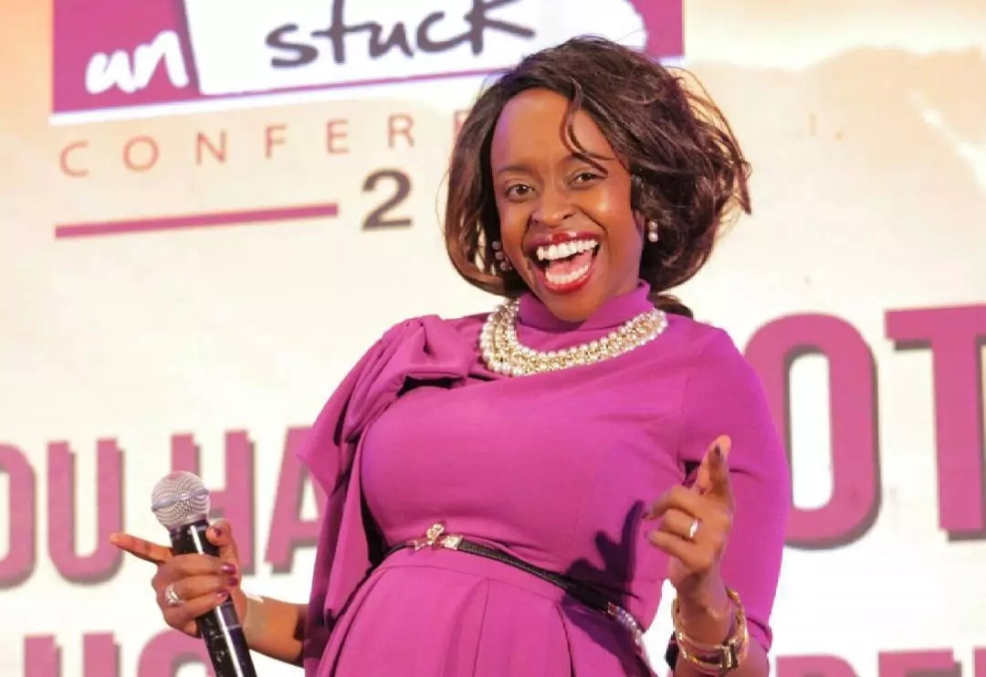 Former NTV host Faith Muturi surprises kenyans after showing her body
