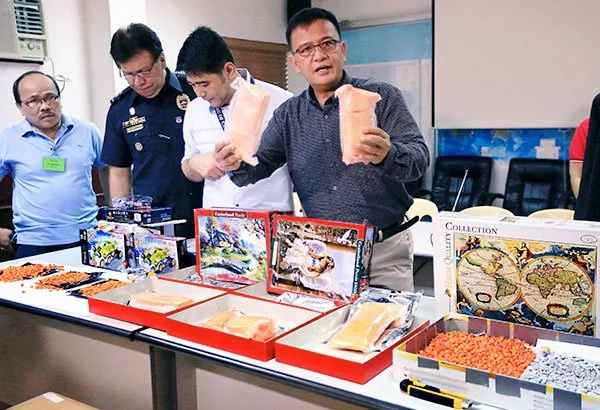 BOC confiscates P7.5-M Ecstasy at PhlPost