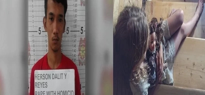 Kawawang bata! Innocent 4-year-old girl raped and killed by a possible drug addict
